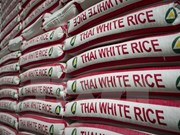 Continúan en Tailandia subastas de gran cantidad de arroz