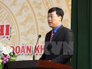Vicepresidente laosiano recibe a delegación juvenil vietnamita