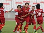 Selección femenina de fútbol de Vietnam ocupa puesto 34 en ranking mundial