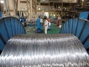 Ligero aumento de índice de producción industrial de Vietnam