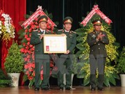 Celebra Academia de Infantería de Vietnam su 70 aniversario de fundación