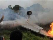 Indonesia: Dos personas muertas al caer un helicóptero militar