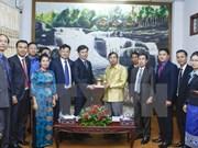 Jóvenes vietnamitas y laosianos consolidan la solidaridad especial bilateral