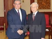 Partidos Comunistas de Vietnam y Grecia consolidan cooperación