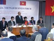 Premier vietnamita asiste al Foro Empresarial Vietnam-Mongolia