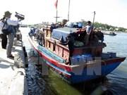 Pescadores de barco hundido por naves chinas regresaron a tierra