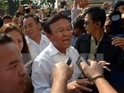 Camboya: Prohíben salida del país a líder opositor
