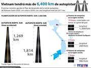 [Infografía] Vietnam tendrá más de 6,400 kilómetros de autopistas