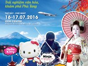 Festival sobre cultura japonesa en Ciudad Ho Chi Minh