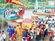 """Festival """"Nghinh Ong"""" reconocido como patrimonio cultural intangible nacional"""