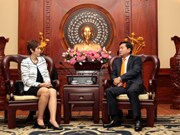 Impulsan cooperación económica entre Ciudad Ho Chi Minh y Singapur