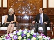 Vietnam aspira impulsar nexos tradicionales con Dinamarca, afirma presidente