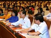 Parlamentarios vietnamitas preocupados por deuda pública y presupuesto