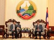 Robustecen Vietnam y Laos lazos tradicionales