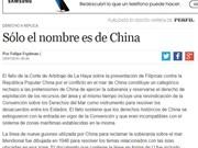 Exembajador argentino en Tailandia respalda fallo de PCA