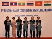 Países de Mekong y la India fomentan cooperación