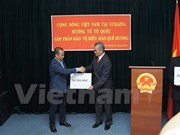 Vietnamitas en Ucrania recaudan por construcción de memorial de mártires de Gac Ma