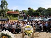 Vietnamitas en Laos y Camboya homenajean a los caídos por la patria
