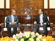 Vietnam saluda iniciativas a favor del desarrollo sostenible, dijo presidente
