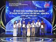 Entregan premio de concurso vietnamita al periodista francés