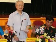 Máximo dirigente partidista de Vietnam reitera determinación contra corrupción