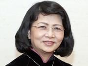 Vicepresidenta de Vietnam se reúne con el electorado de provincia sureña
