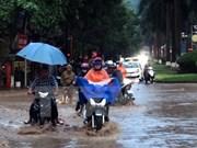 Pronostican continuo aguacero en las regiones norteñas de Vietnam