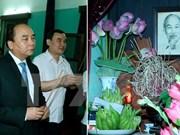 Premier de Vietnam rinde tributo al extinto Presidente Ho Chi Minh