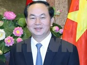 Presidente de Vietnam viaja a Brunei para iniciar una visita estatal