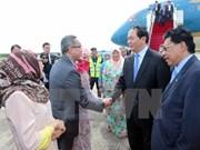 Presidente vietnamita llega a Brunei para visita estatal
