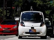 Entra en prueba primer coche auto-conducido en Singapur