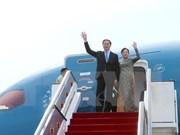 Presidente vietnamita inicia visita a Singapur