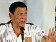 Filipinas: Duterte promete recompensas por policías implicados en narcotráfico