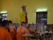 Celebraciones budistas de comunidad vietnamita en Tailandia