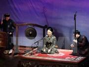 Género musical Ca Tru presentado a turistas en provincia de Vietnam de Quang Binh