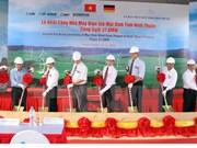Inician construcción de planta eólica en provincia de Vietnam