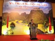 En extranjero efectúan distintas actividades por Día Nacional de Vietnam