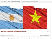 Prensa argentina destaca éxitos económicos vietnamitas