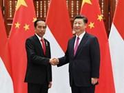 Indonesia y China aspiran fomentar cooperación económica