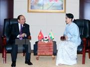 Dispuestos Vietnam y Myanmar a estrechar vínculos tradicionales