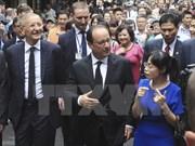Visita de Hollande a Vietnam acapara prensa francesa