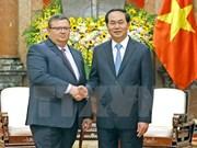 Visita Vietnam fiscal general de Bulgaria