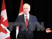 Canciller canadiense visita Ciudad Ho Chi Minh