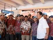 Indonesia y Vietnam discuten la repatriación de pescadores