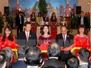 """Premier vietnamita inaugura pabellón de """"Nación de Honor"""" en CAEXPO"""