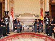 Vicepremier de Singapur visita Ciudad Ho Chi Minh