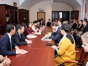 Alta funcionaria partidista de Vietnam concluye visita de trabajo a Rusia