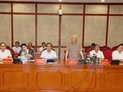 Líder partidista subraya importancia de recursos para el desarrollo de Can Tho