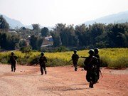 Ejército de Myanmar refuerza seguridad en Kokang