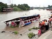 Al menos 13 muertos por accidente de barco en Tailandia